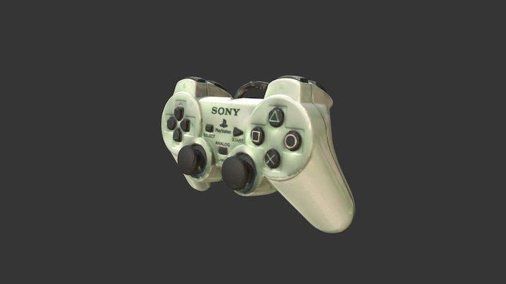 Playstation 2 Controller 3D Model