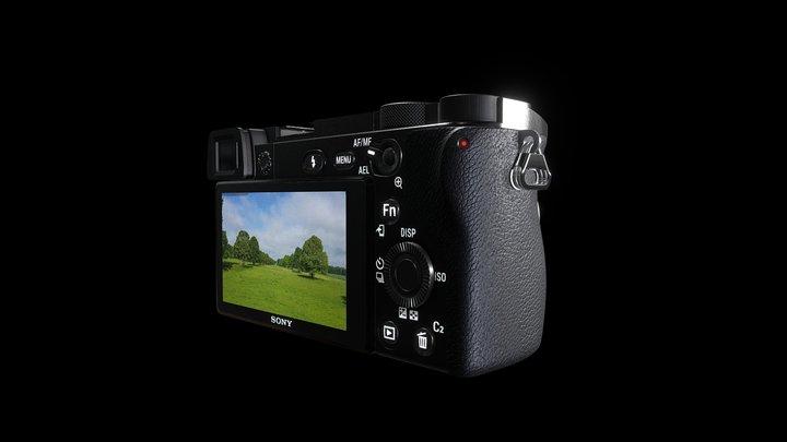 SonyA6400 3D Model