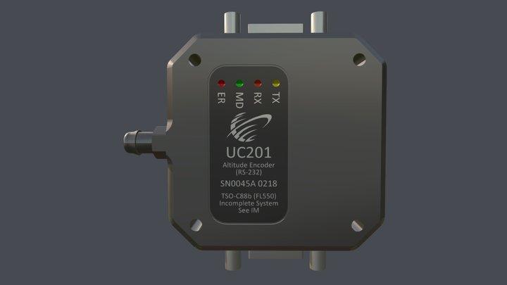 UC201 Altitude Encoder 3D Model