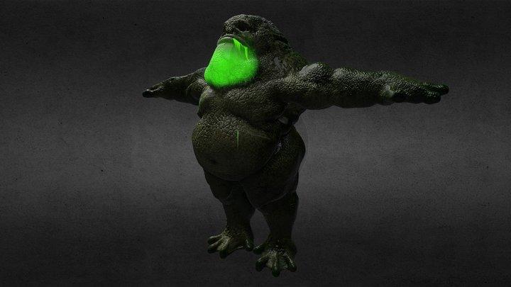 FROGGY 3D Model