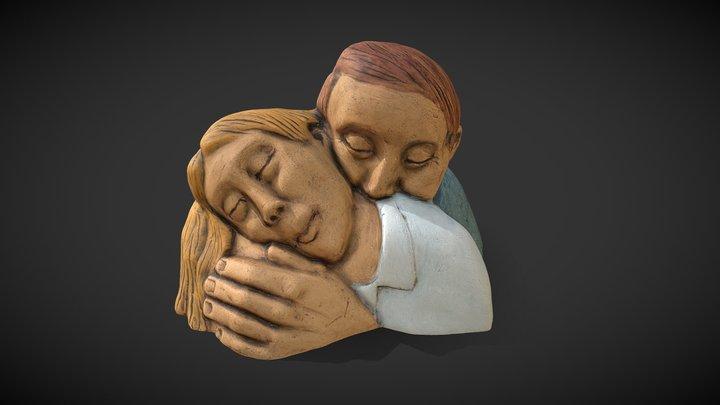 Lovers, Men & Woman 3D Model