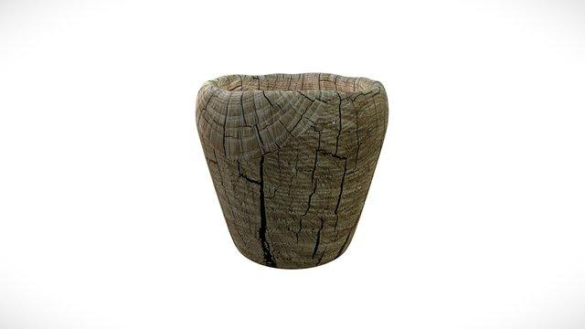 Wooden Cup 3D Model