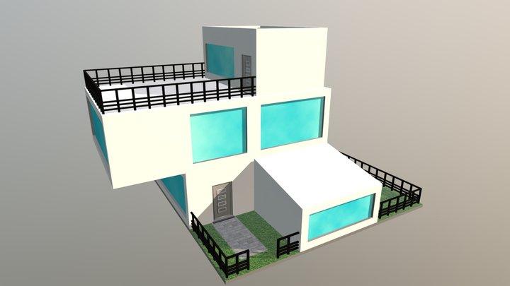 Modern House Model 3D Model