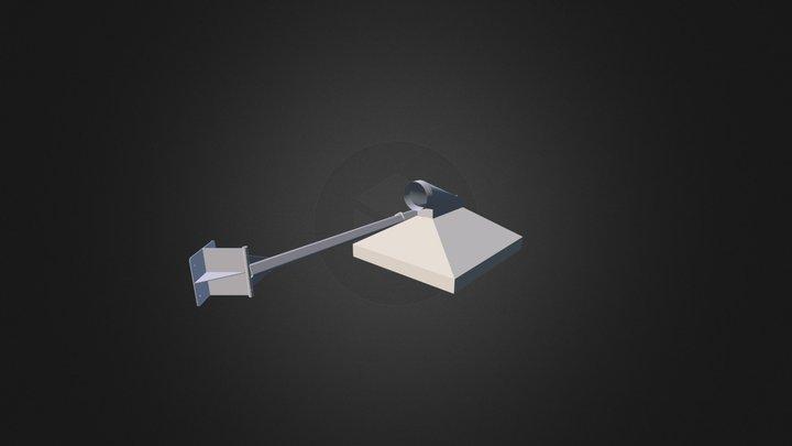 Vapor Hood 3D Model