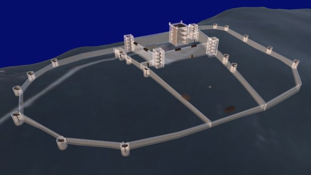 Castelo de Setúbal 3D Model