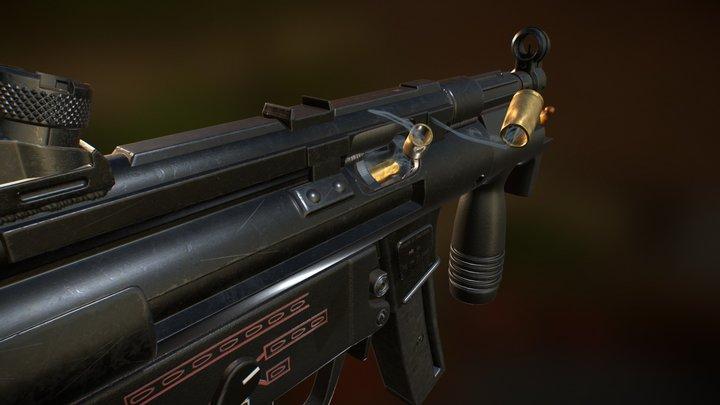MP5k 3D Model