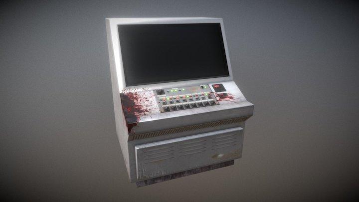 Control console 3D Model