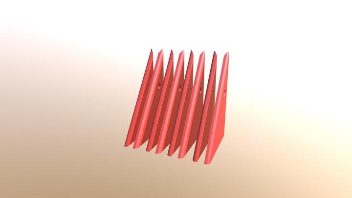 Prism P7 - 4 L&R Top Dock Walls 3D Model