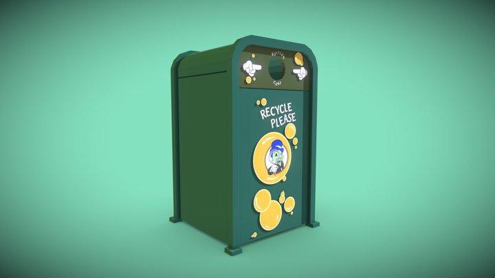 Toontown Recycle Bin