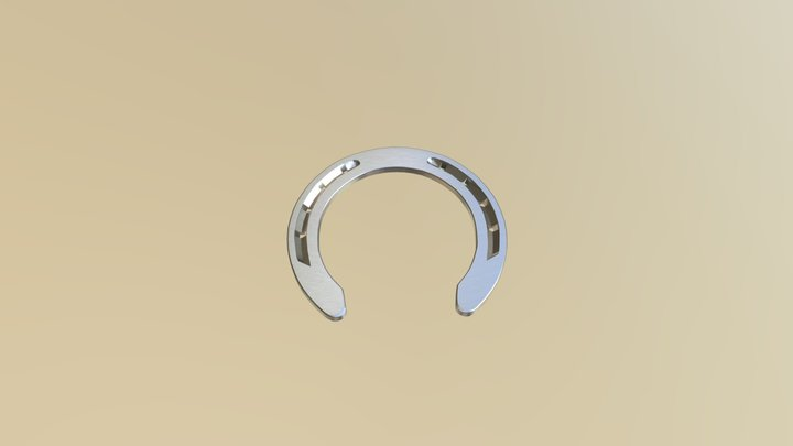 Kawell USA - Steel Horseshoe 3D Model