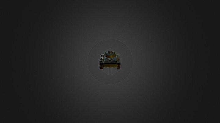 Panzer 3 3D Model