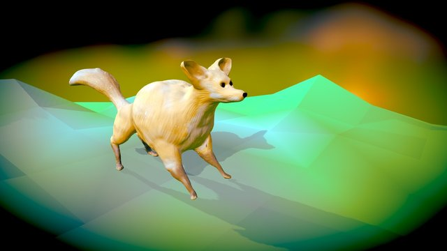 26 - cartoon animal 3D Model