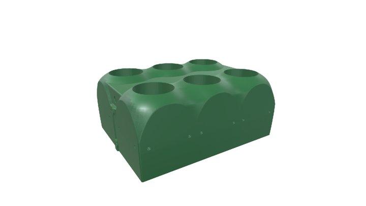 6 Kernel Array Housing Assembly 3D Model