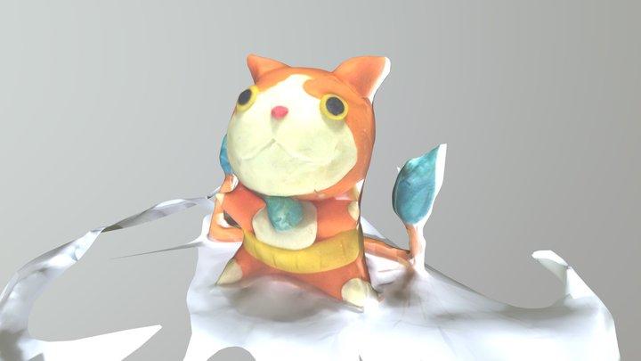 Jiba Nyan 3D Model