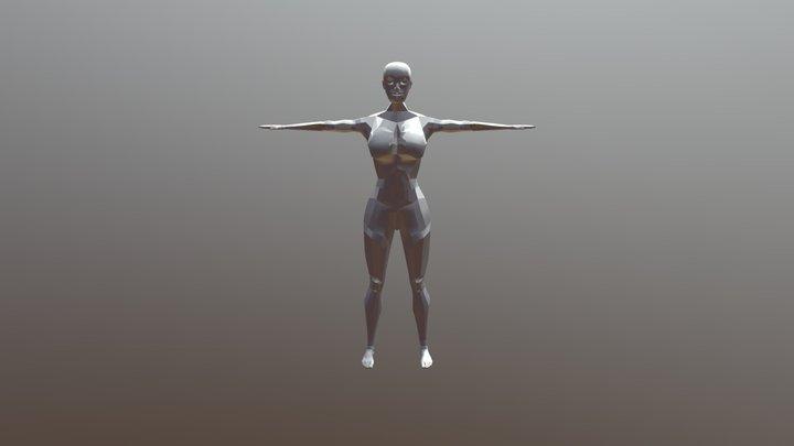 Female Topology Study 3D Model