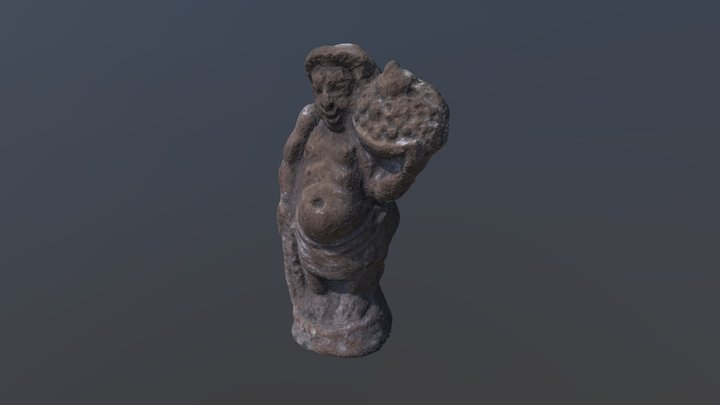 Terracotta figurine 3D Model