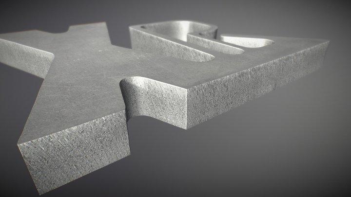 XPR300 - Amostra de corte em alumínio (PT)