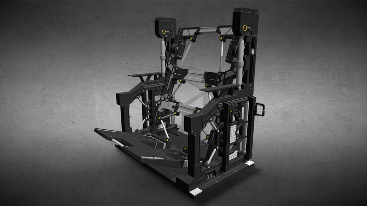 Gundam System Base 001 3D Model