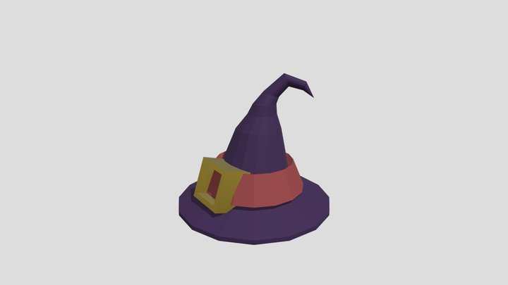 Witch's Hat 3D Model
