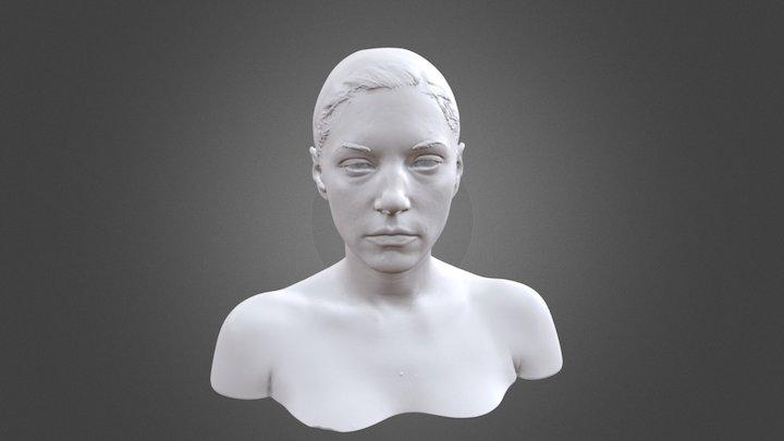 Katheryn Winnick Bust 3D Model