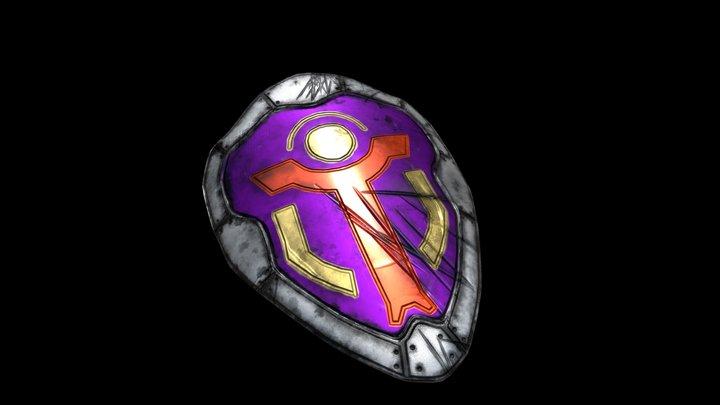 Hero's Shield 3D Model