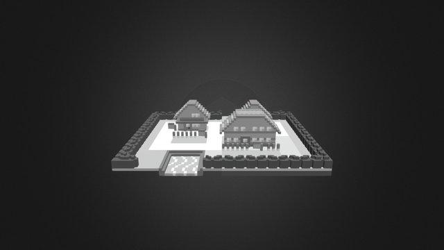 Palette Town 3D Model
