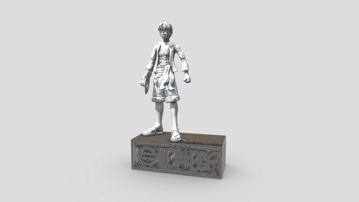 Monkey D. Luffy - printable 3D Model