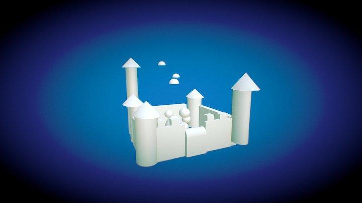 El Castillo 3D Model
