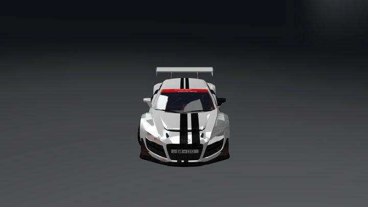 Audi R8 V10 3D Model