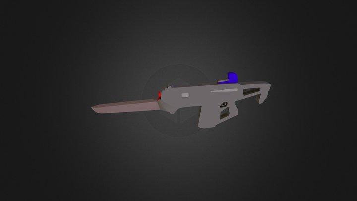 Monte Carlo - Destiny Weapon 3D Model
