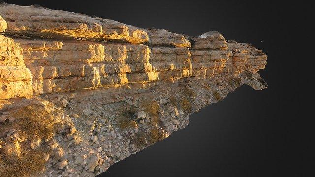 Geology Outcrop - Quintuco Picun Leufu 3D Model