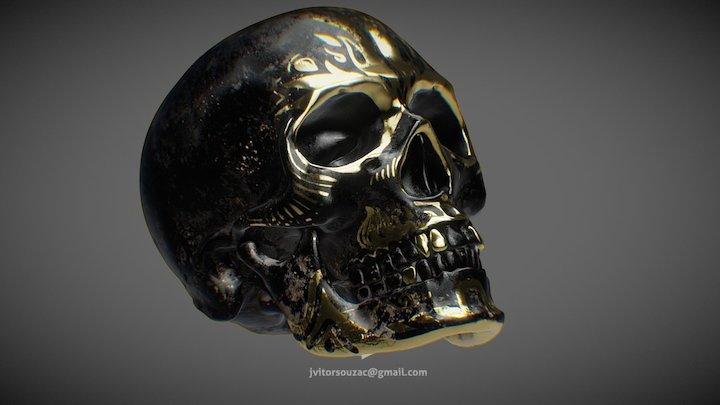 Skull Salazar (Downloadable) 3D Model