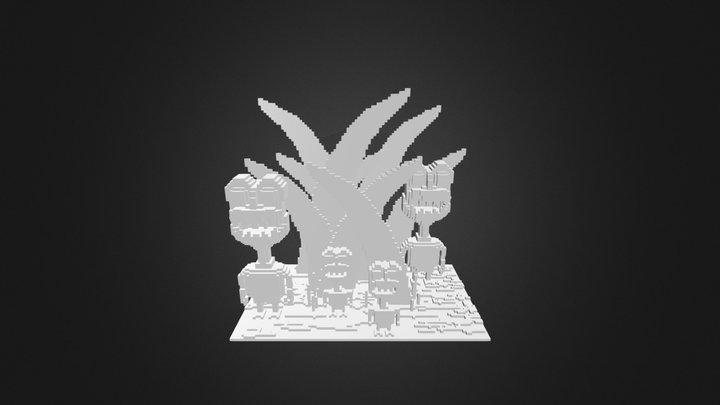 Grassmonsterz 3D Model