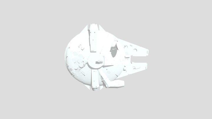 Millennium Falcon Render Demo 3D Model