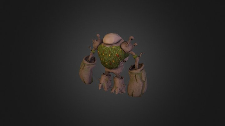 Tree Character - Work in Progress (Update) 3D Model