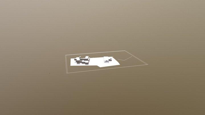 sample architecture model 3D Model