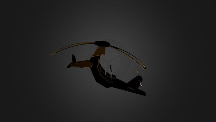 Skycycle.blend 3D Model