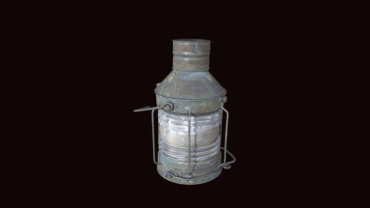 SS Gairsoppa Ship's Lantern 3D Model