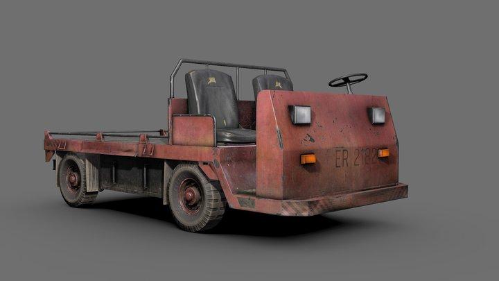 Transportation Cart 3D Model