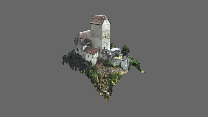 Schloss Sargans 3D Model