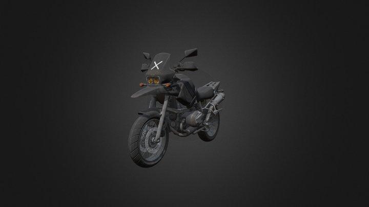 PUBG:Motorcycle 3D Model