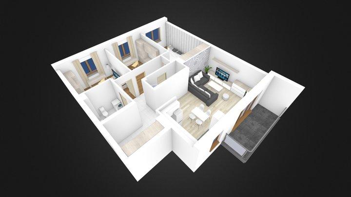mieszkanie nr 8 3D Model
