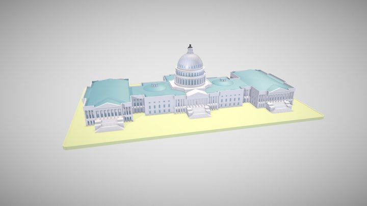 The United States Capitol 3D Model