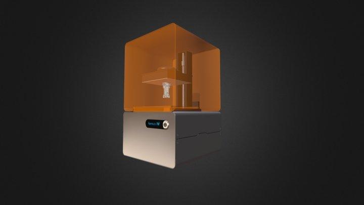 Form 1+ 3D printer 3D Model