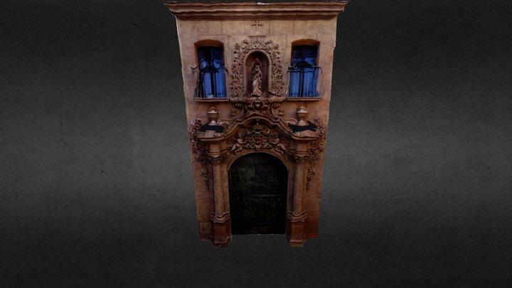 Puerta de la Capilla del Rosario de Lorca 3D Model