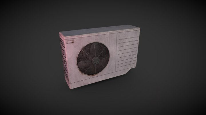 Air Conditioner (Game Prop) 3D Model
