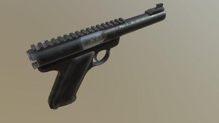 MK22 Ruger 3D Model