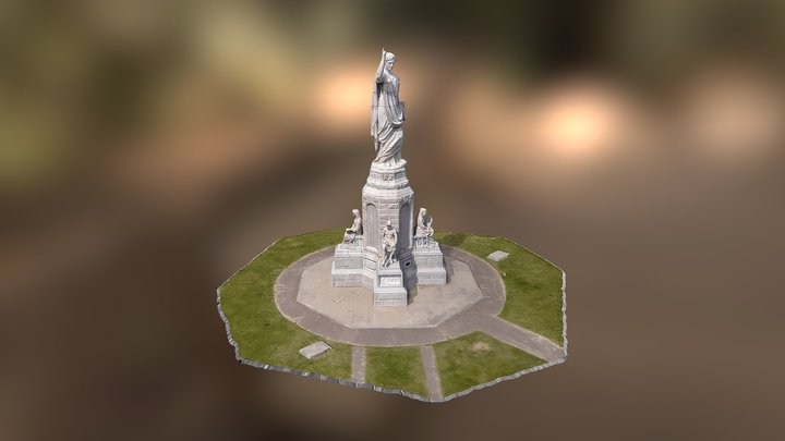 National Monument to the Forefathers 3D Model