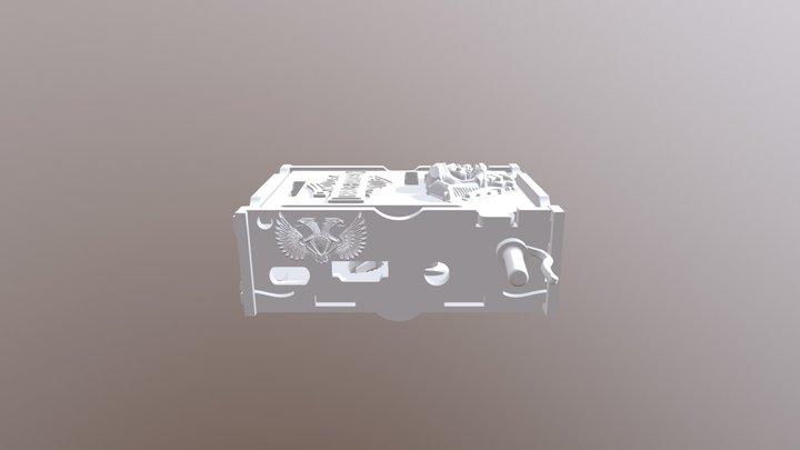 Raspberry Pi Harley Davinson COMPLET OBJ 3D Model