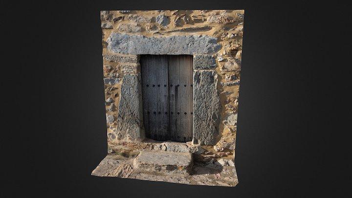Puerta de Piedra (Stone door) 3D Model